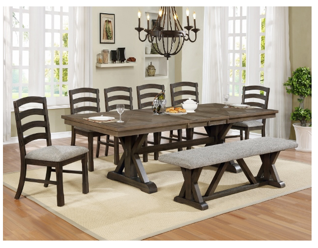 ARMINA 7 PC DINING SET