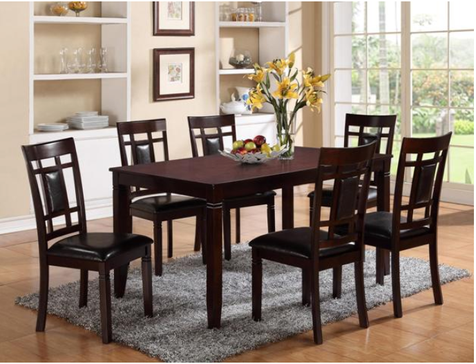 DINETTE SET PAIGE 7-PC