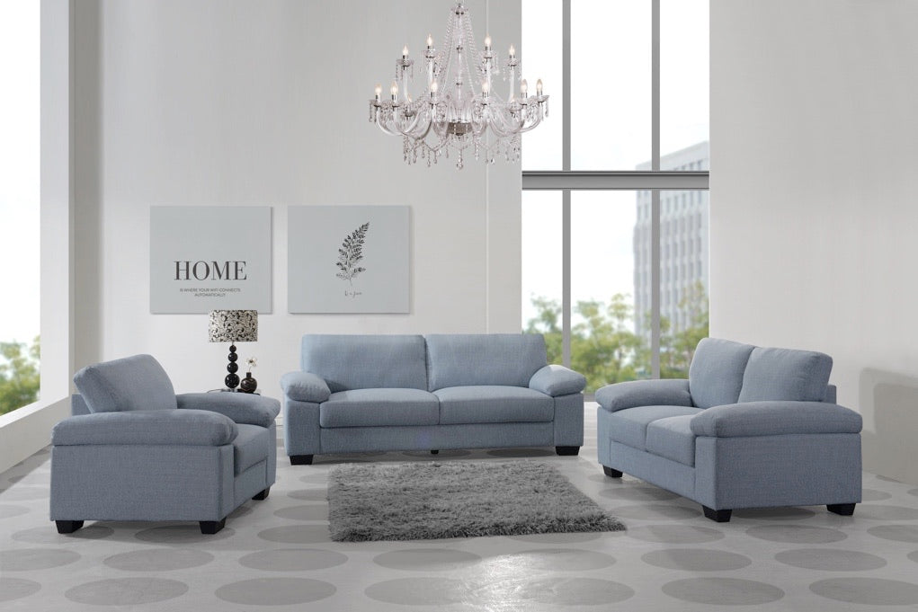 Harper Dusk Sofa & Love