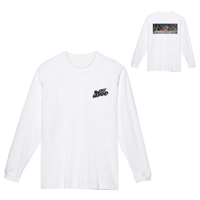 「the LAST DEVOUR」x「theLASTWEEKEND」 Long Sleeve Tee [White] - No.20