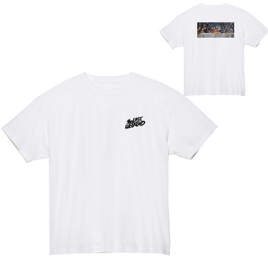 「the LAST DEVOUR」x「theLASTWEEKEND」 Tee [White] - No.18