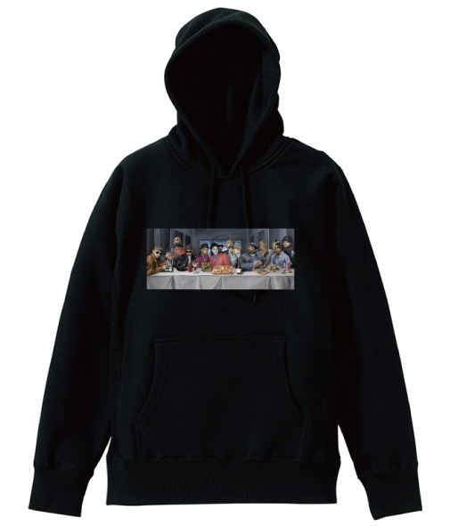 「the LAST DEVOUR」Printing Pullover Hoodie - No.17