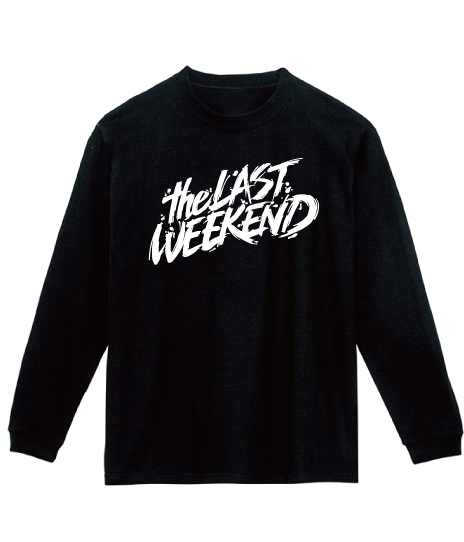 「theLASTWEEKEND」Big Logo Long Sleeve Tee [Black] - No.12