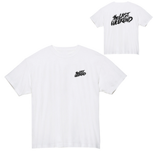 「theLASTWEEKEND」Logo Tee [White] - No.06