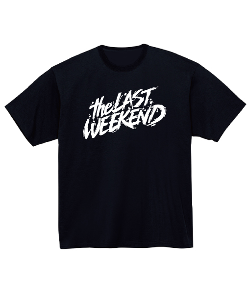「theLASTWEEKEND」Big Logo Tee [Black] - No.04