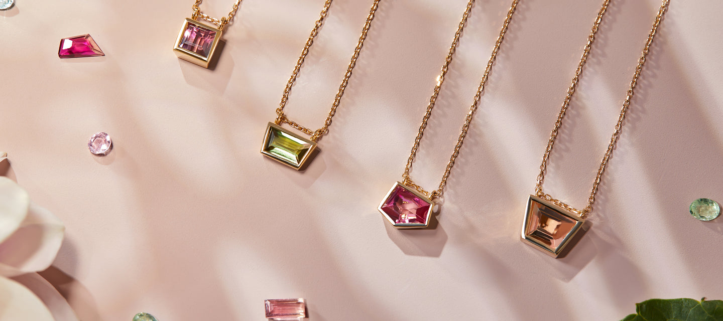 Tourmaline Necklaces Dana Kapustin