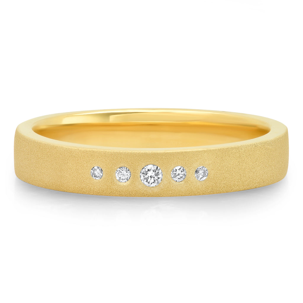 Surface Diamond Band - Rosedale Jewelry