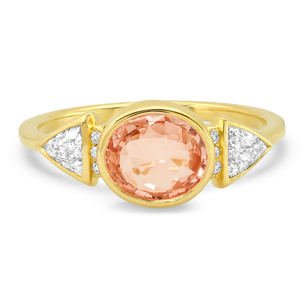 Blush Sapphire Ring - Rosedale Jewelry