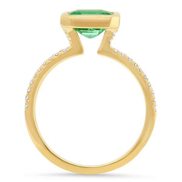 Genevieve Emerald Ring