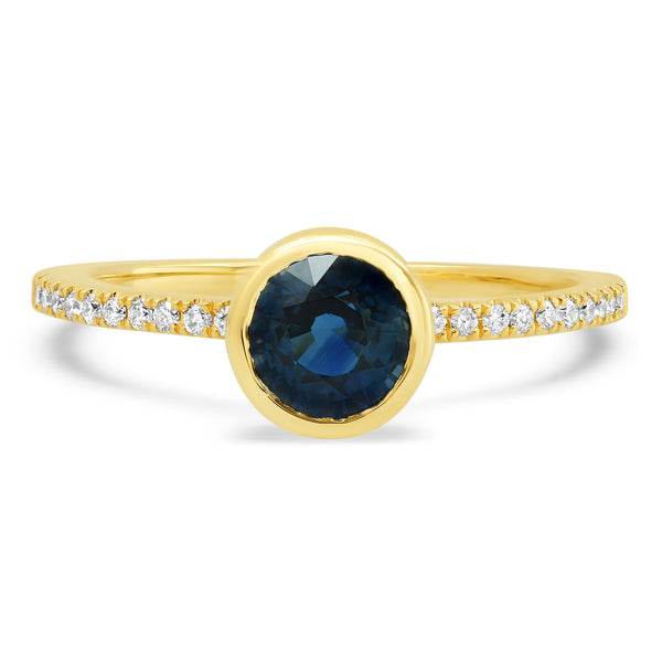 Solitaire Sapphire Ring - Rosedale Jewelry