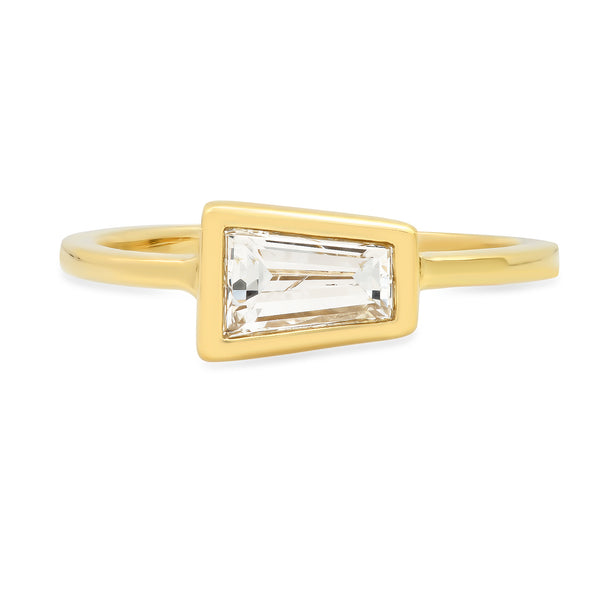 Lateral Baguette Diamond Ring - Rosedale Jewelry