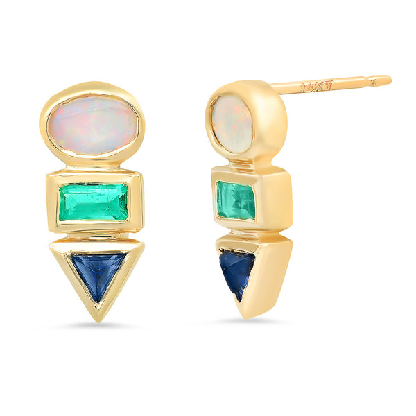 Tempo Multi Earrings - Rosedale Jewelry