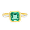 Genevieve Emerald Ring - Rosedale Jewelry