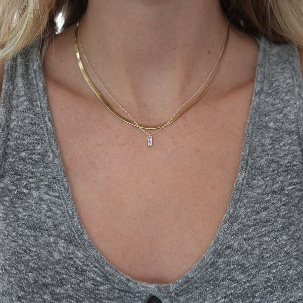 Sapphire Duet Necklace - rosedale-jewelry