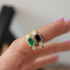 Flora Emerald Opal Ring - Rosedale Jewelry