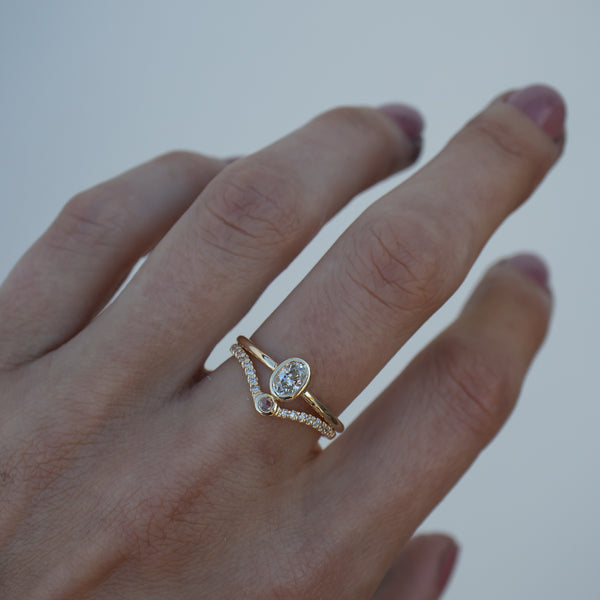 Ophelia Diamond Ring - Rosedale Jewelry
