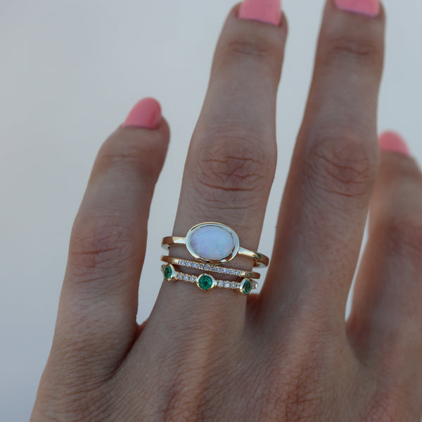 Opal Secret Garden Ring - rosedale-jewelry