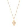 Rhombus Diamond Necklace - Rosedale Jewelry