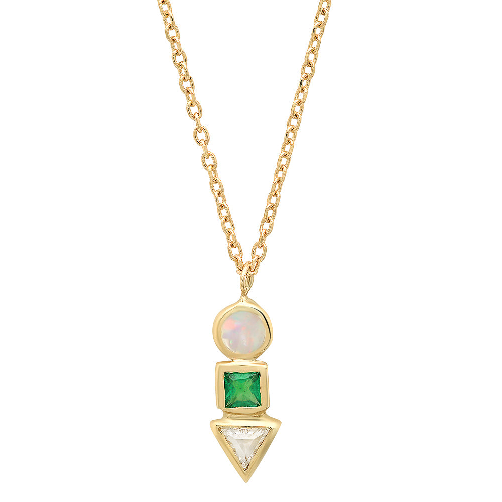 Multi Cadence III Necklace - Rosedale Jewelry