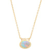 Opal Emerald Secret Garden Necklace - Rosedale Jewelry