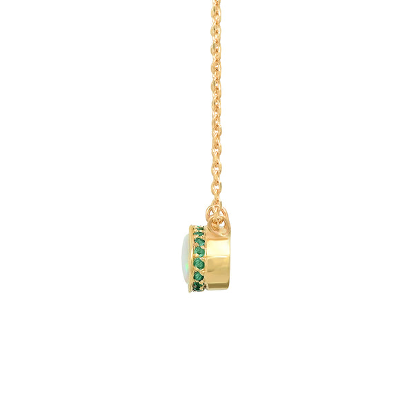 Opal Secret Garden Necklace - rosedale-jewelry