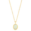 Opal Sapphire Secret Garden Necklace - Rosedale Jewelry
