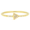 Trillion Diamond Ring - Rosedale Jewelry