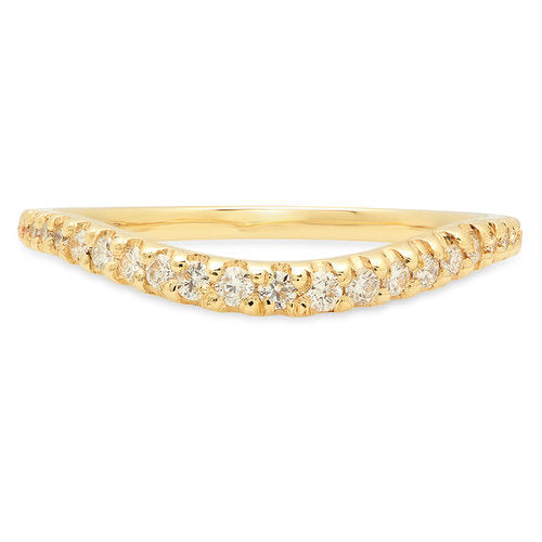 Cascading Diamond Band - rosedale-jewelry