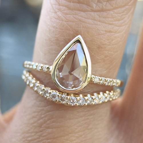 Cascading Diamond Band - Rosedale Jewelry