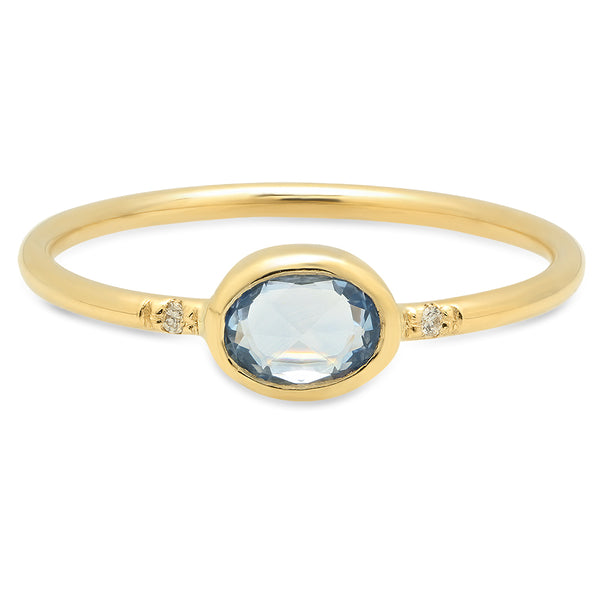 Oval Sapphire Ring - rosedale-jewelry