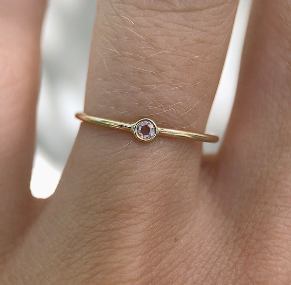 Petite Diamond Seedling Ring - Rosedale Jewelry