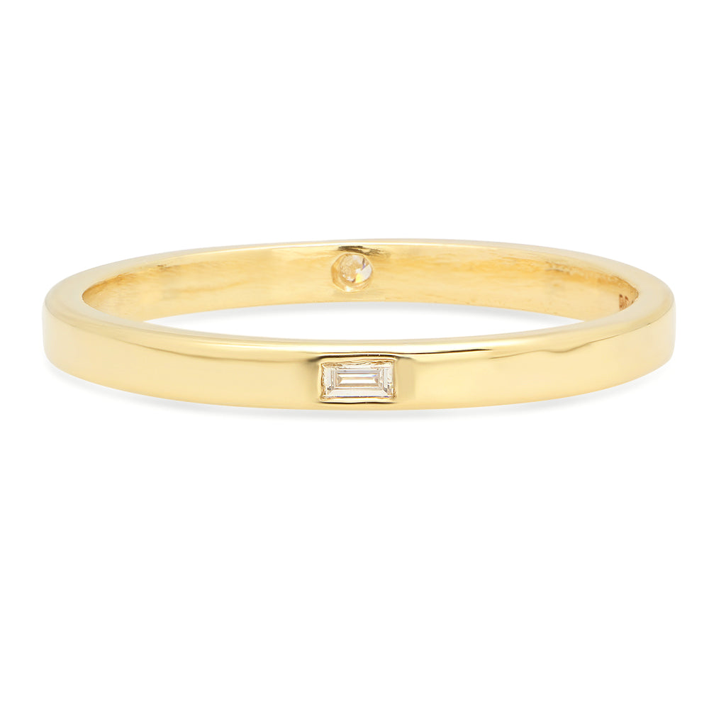 Reversible Baguette Band - rosedale-jewelry
