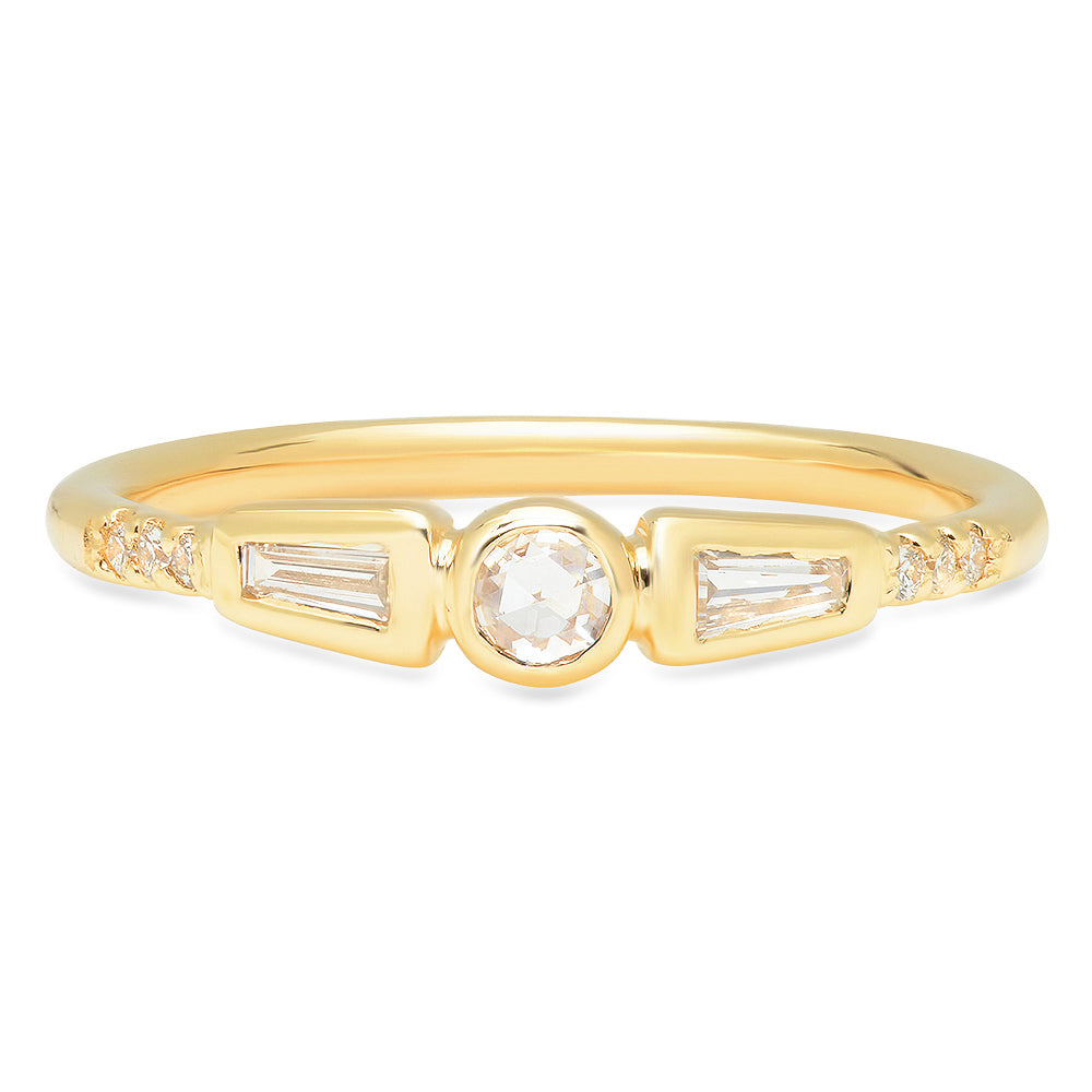 Olivia Diamond Band - rosedale-jewelry