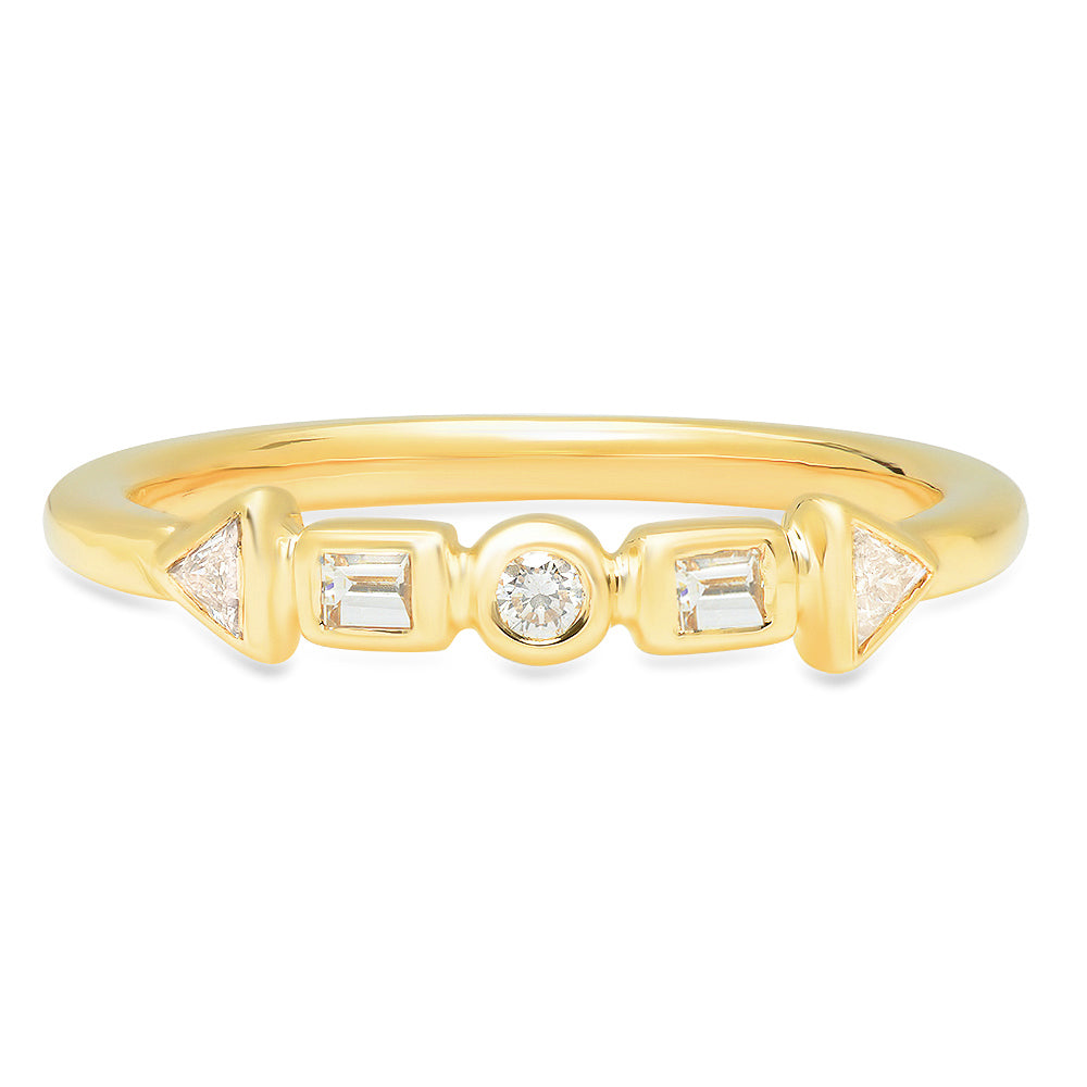 Cadence Diamond Band - rosedale-jewelry