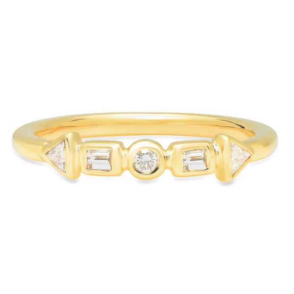 Cadence Diamond Band - Rosedale Jewelry