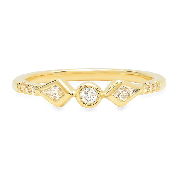 Naomi Kite Diamond Band - rosedale-jewelry