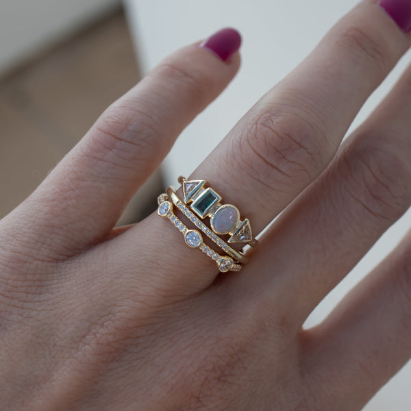Tempo Diamond Ring - rosedale-jewelry