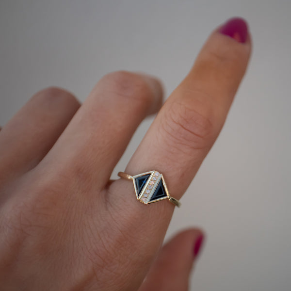 Counterbalance Ring - rosedale-jewelry