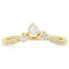 Triad Diamond V Band - Rosedale Jewelry
