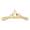 Triad Opal V Band - Rosedale Jewelry
