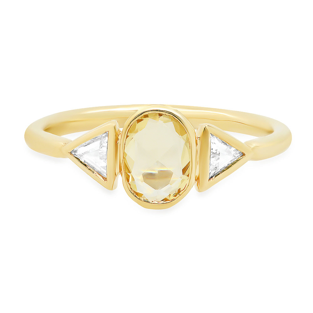 Morphe Yellow Sapphire Ring - rosedale-jewelry