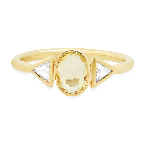 Morphe Yellow Sapphire Ring - Rosedale Jewelry