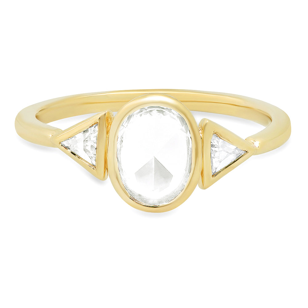 Morpheus White Sapphire Ring - rosedale-jewelry