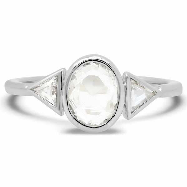 Morpheus White Sapphire Ring - Rosedale Jewelry