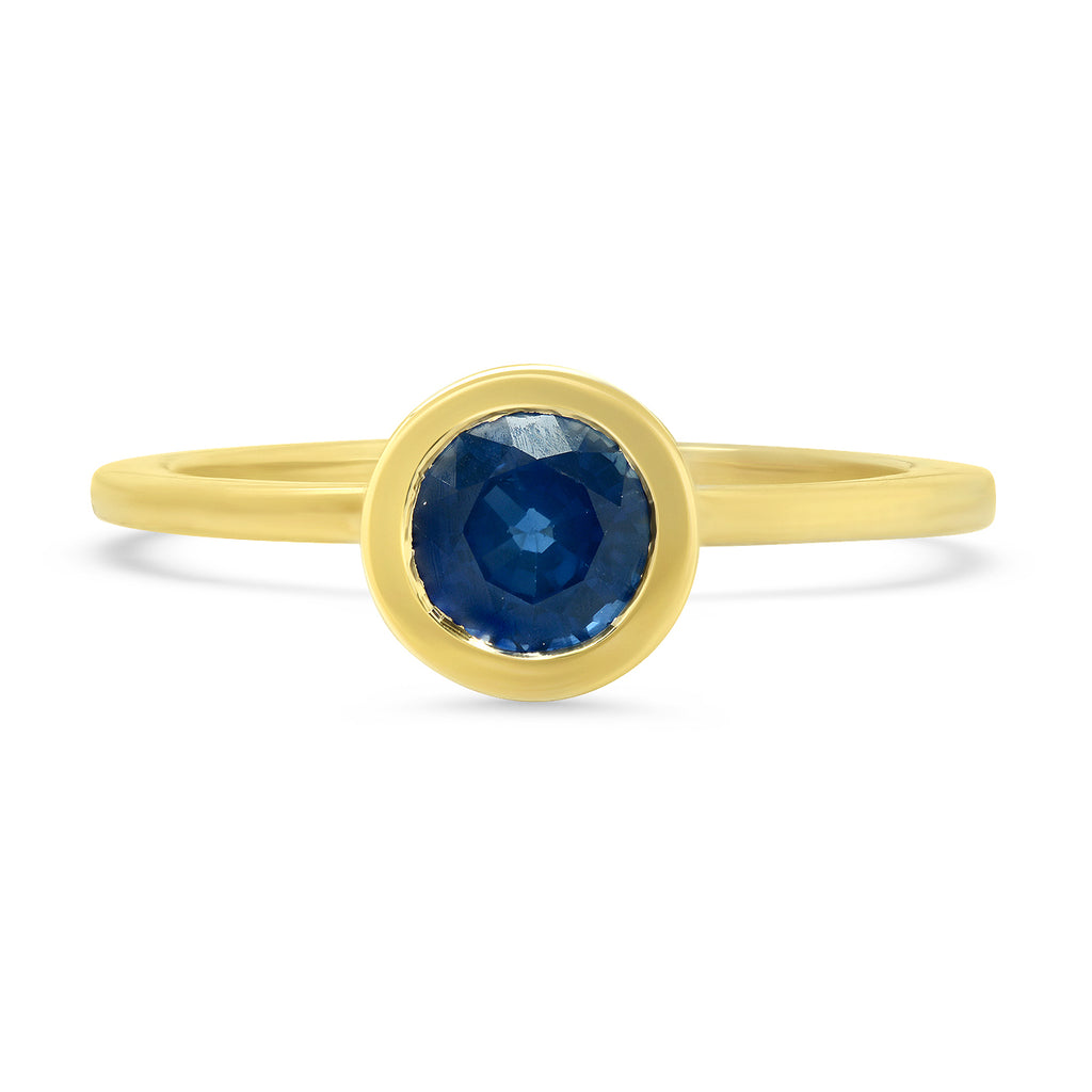 Sapphire Secret Garden Ring - Rosedale Jewelry
