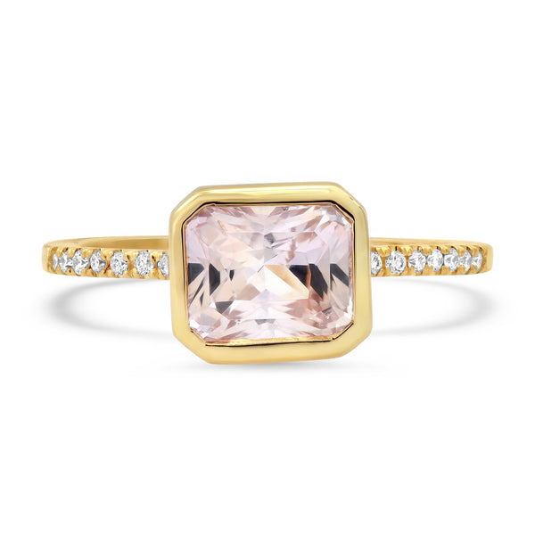 Pastel Pink Sapphire Ring - Rosedale Jewelry