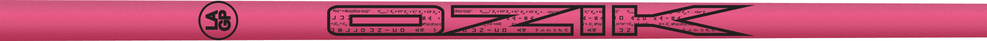 Ozik Red Tie: Neon Pink Black Textured - Wood 50 R