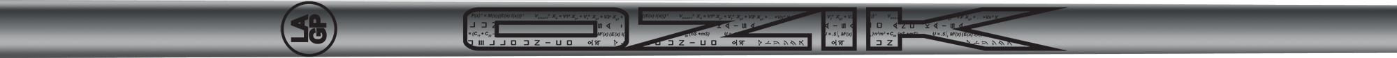 Ozik White Tie: Chrome Silver Black Gloss - Wood 40 A