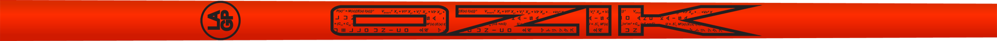 Ozik White Tie: Ferrari Red Black Satin - Wood 40 A