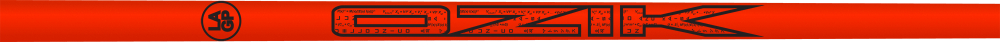 Ozik White Tie: Ferrari Red Black Matte - Wood 40 A